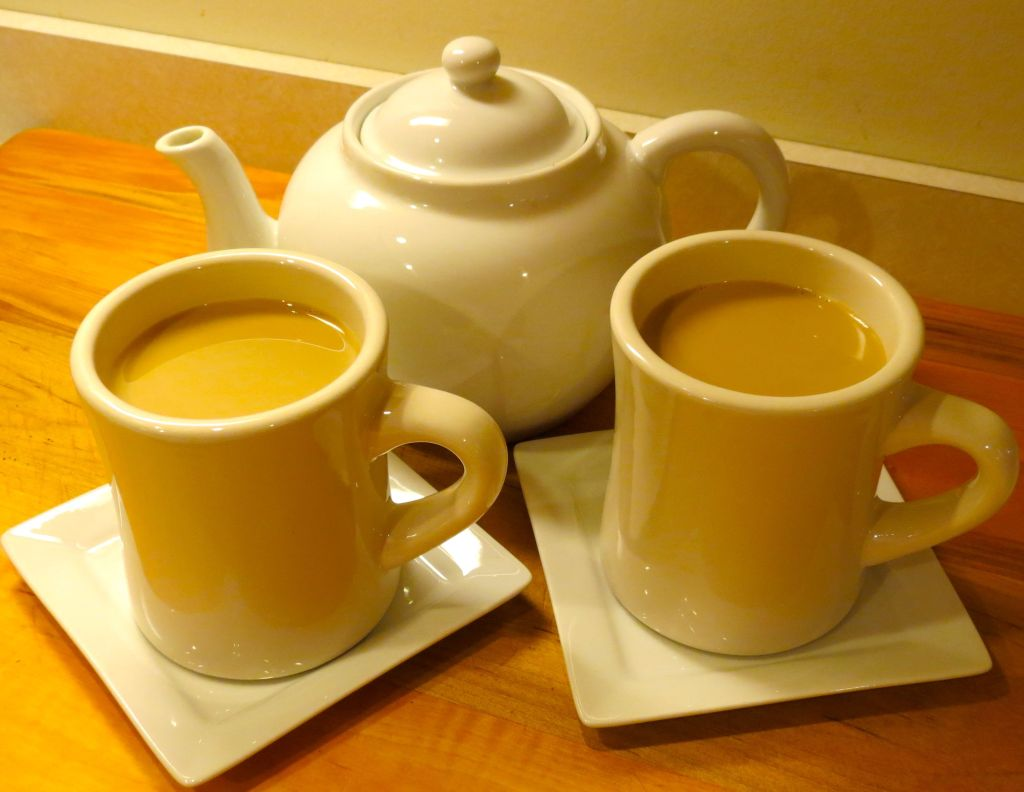 Chai Tea Pot and Mugs