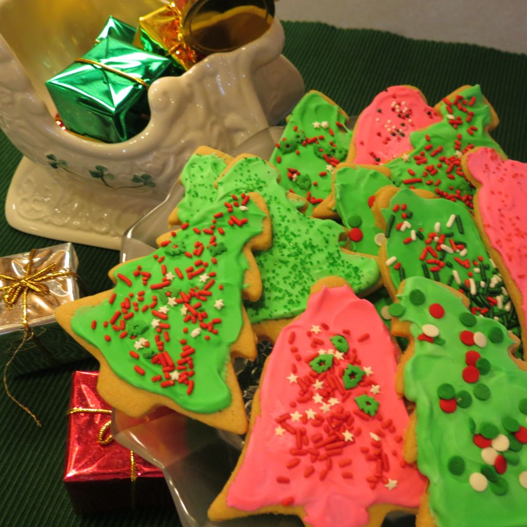 Chewy Cutout Christmas Cookies final picture