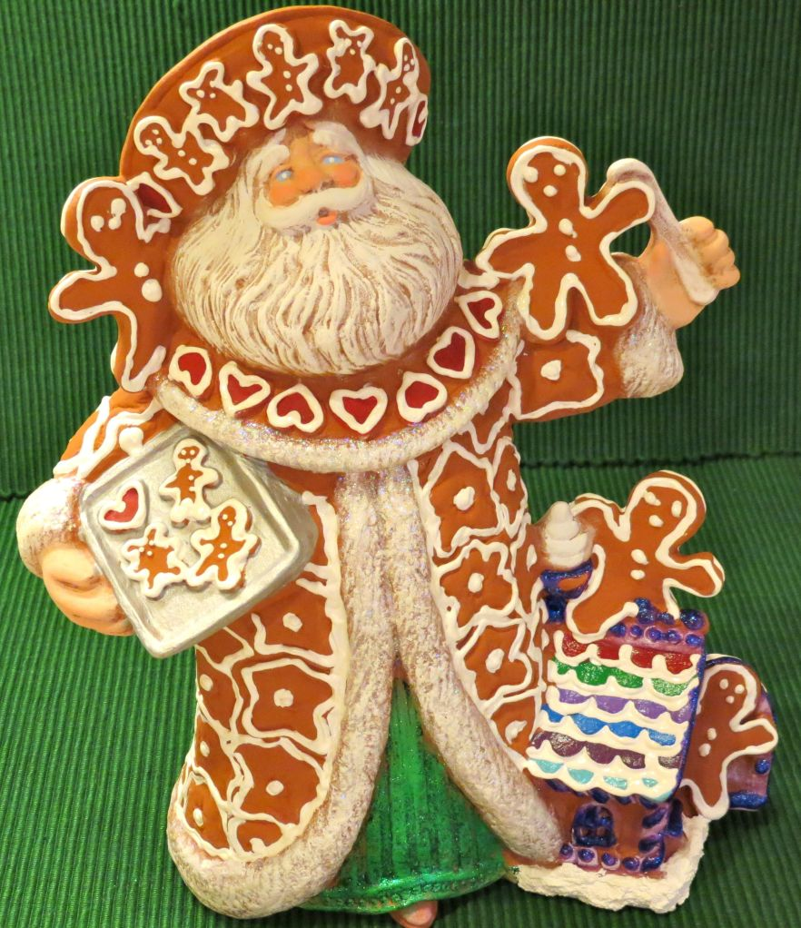 Gingerbread Santa Ceramics
