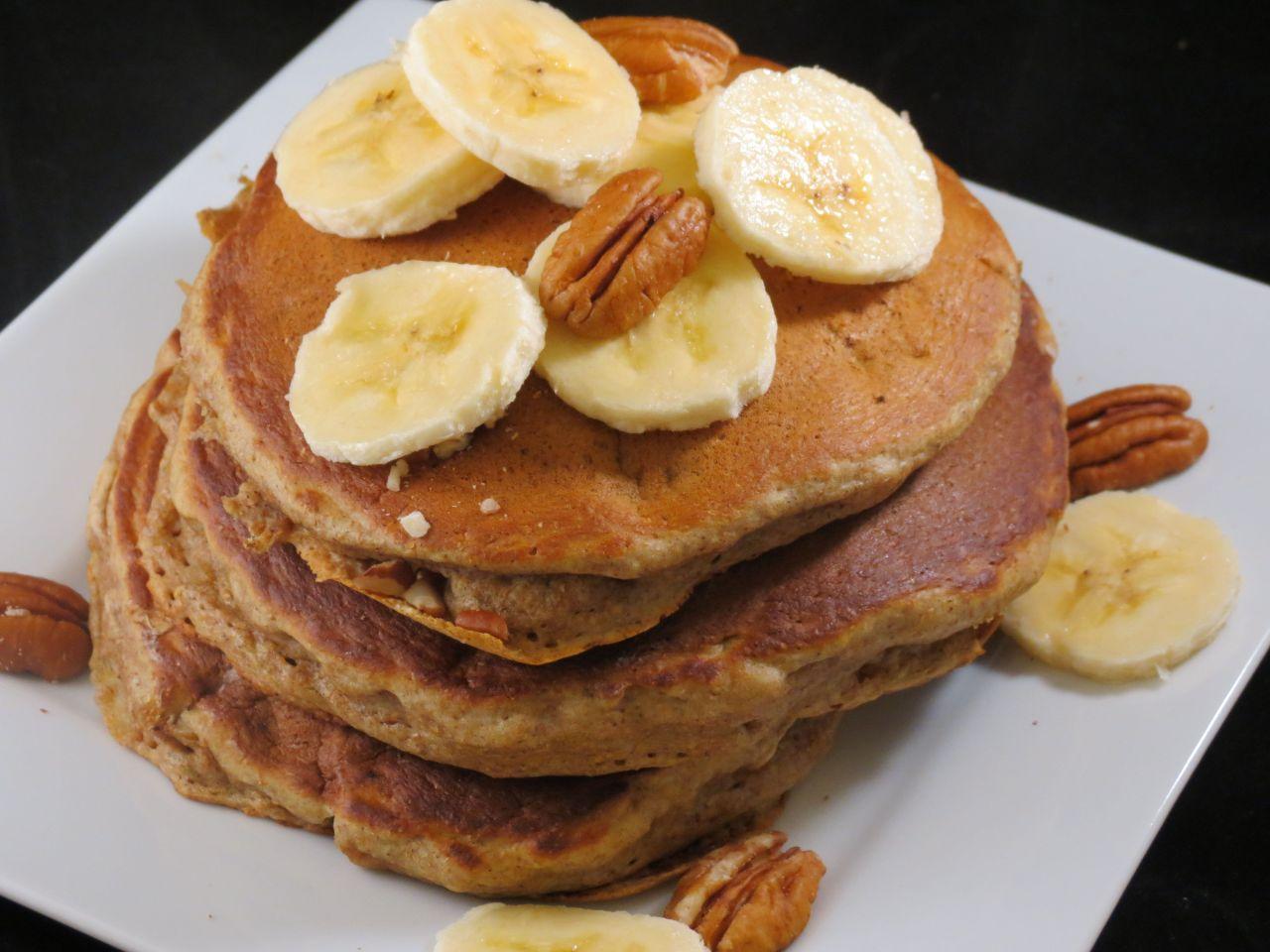Banana Pecan Pancakes single serving