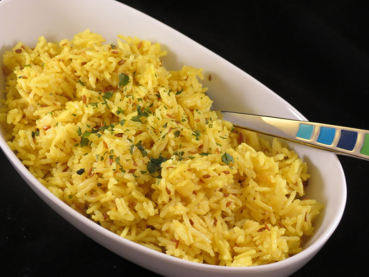 Basmati Rice With Spices