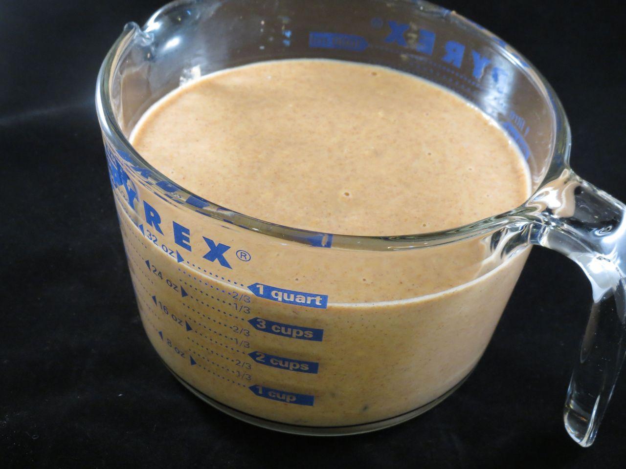 Pumpkin Chococlate Chips Pancakes final batter