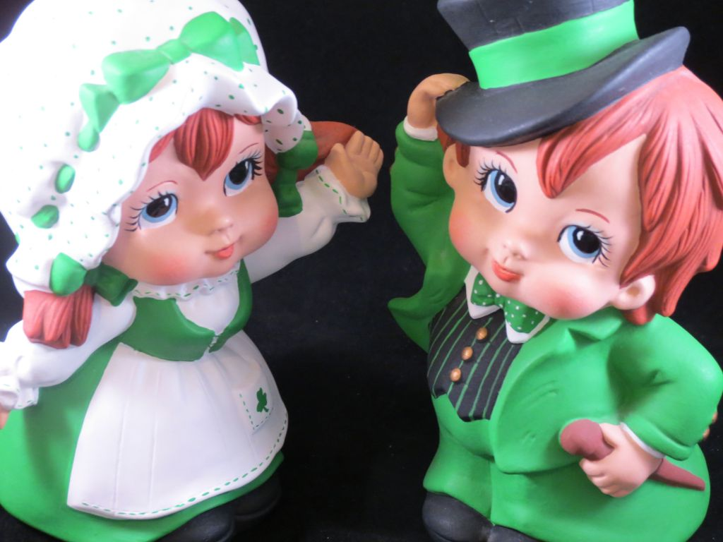 Irish boy and girl