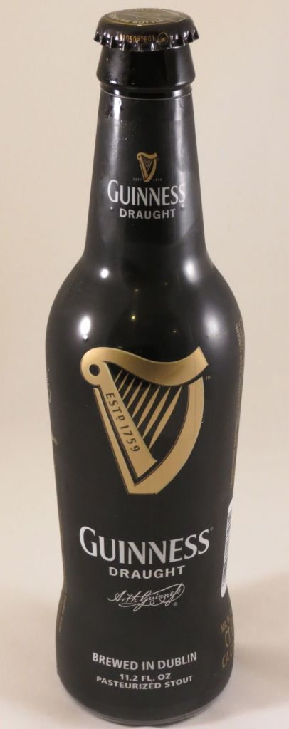Irish Guinness Stew bottle of guinness