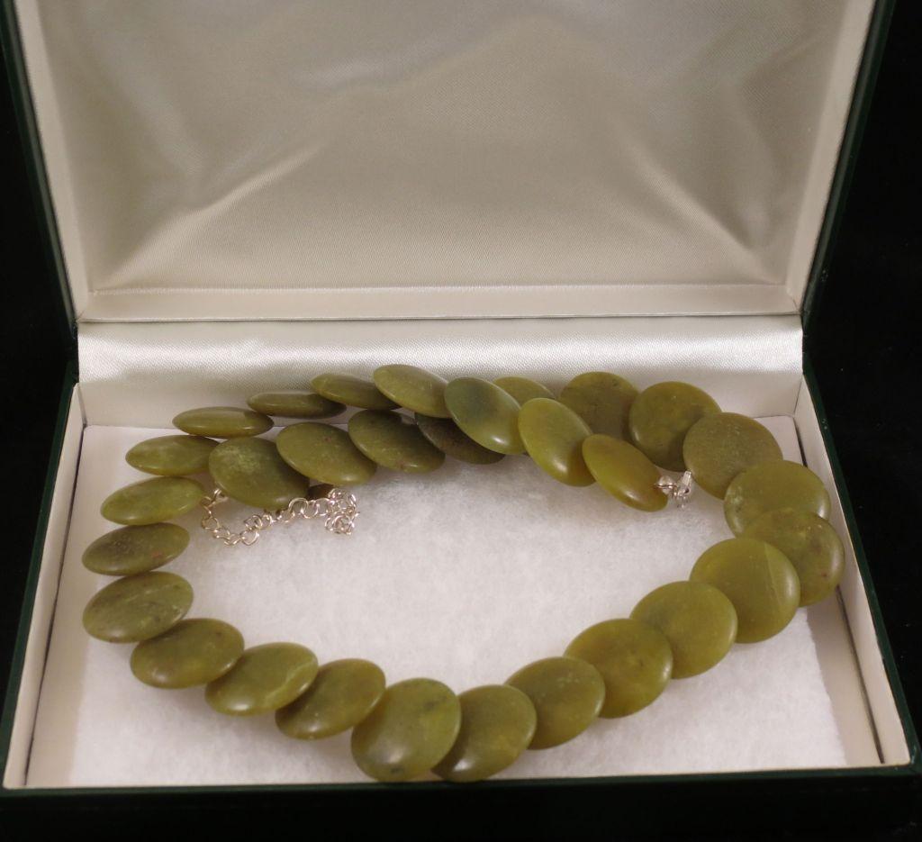 Irish Shamrock Cookies Connemara Marble Jewelry