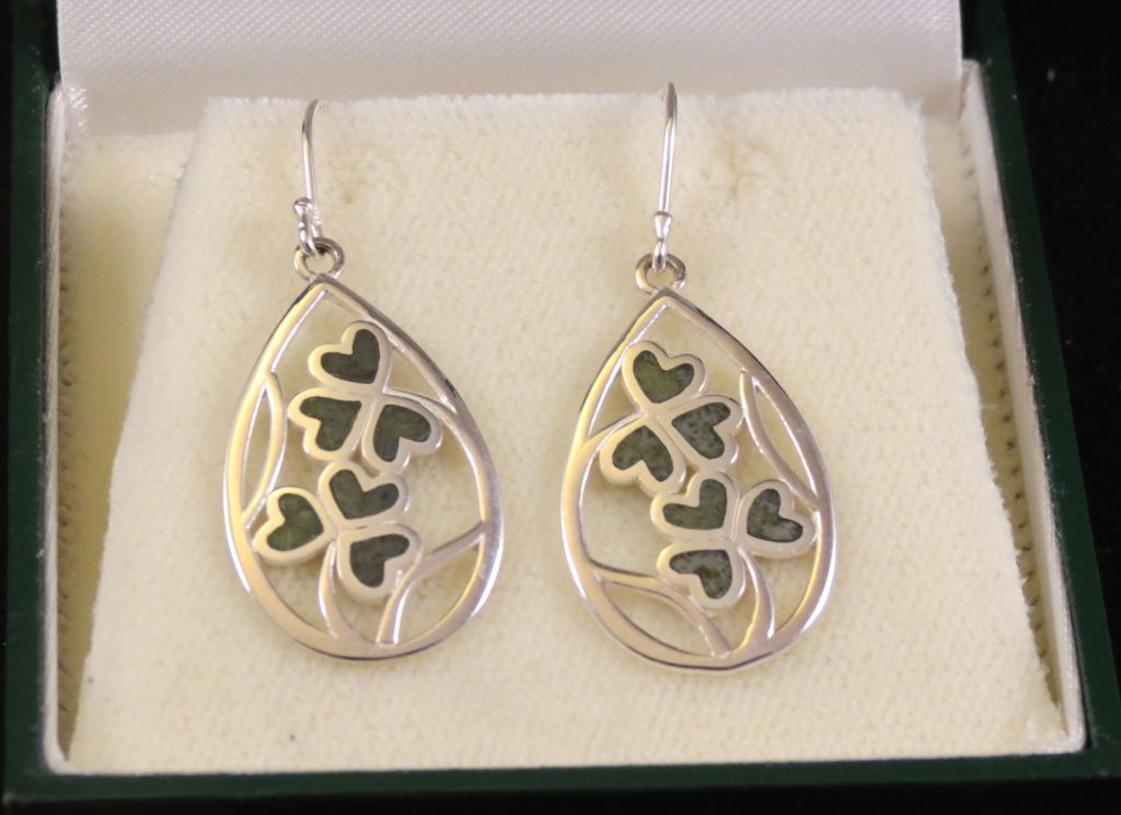 Irish Shamrock Cookies earrings