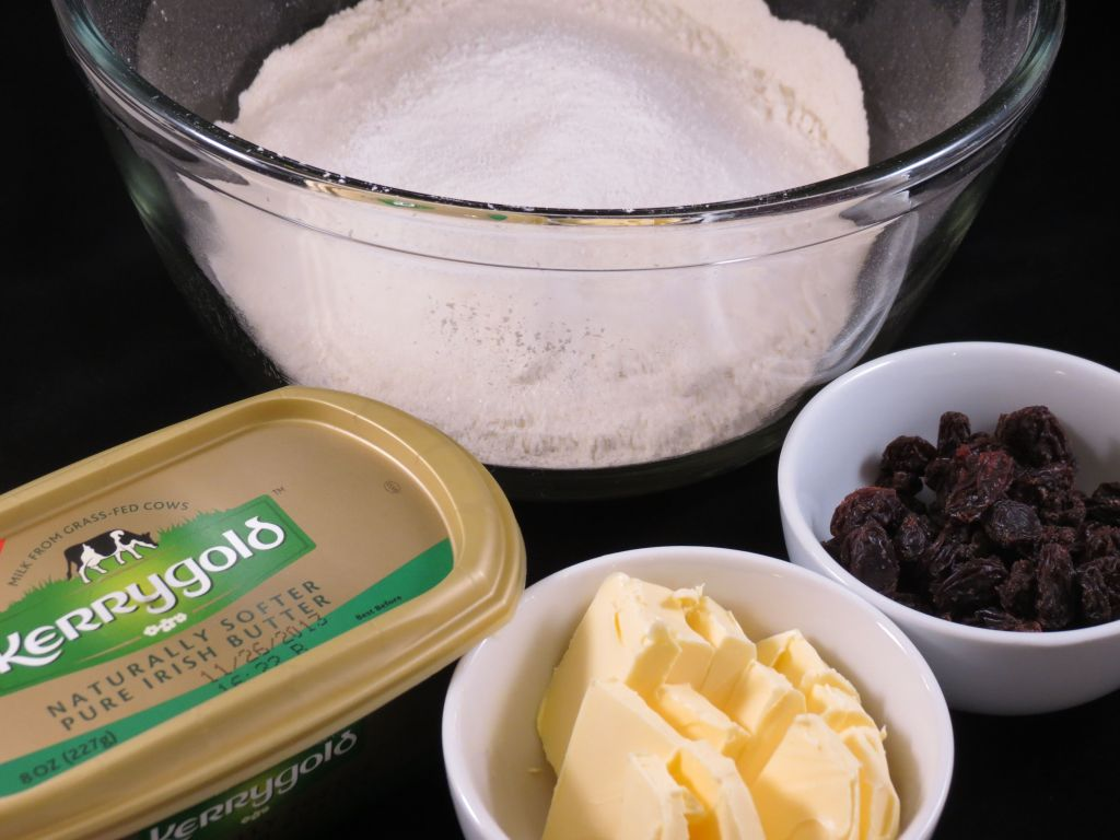 Irish Tea Scones Ingredients