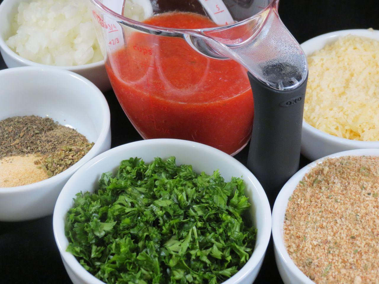Italian Style Meatloaf Ingredients