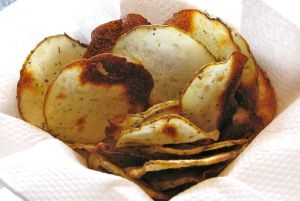 Kicked Up Baked Chips