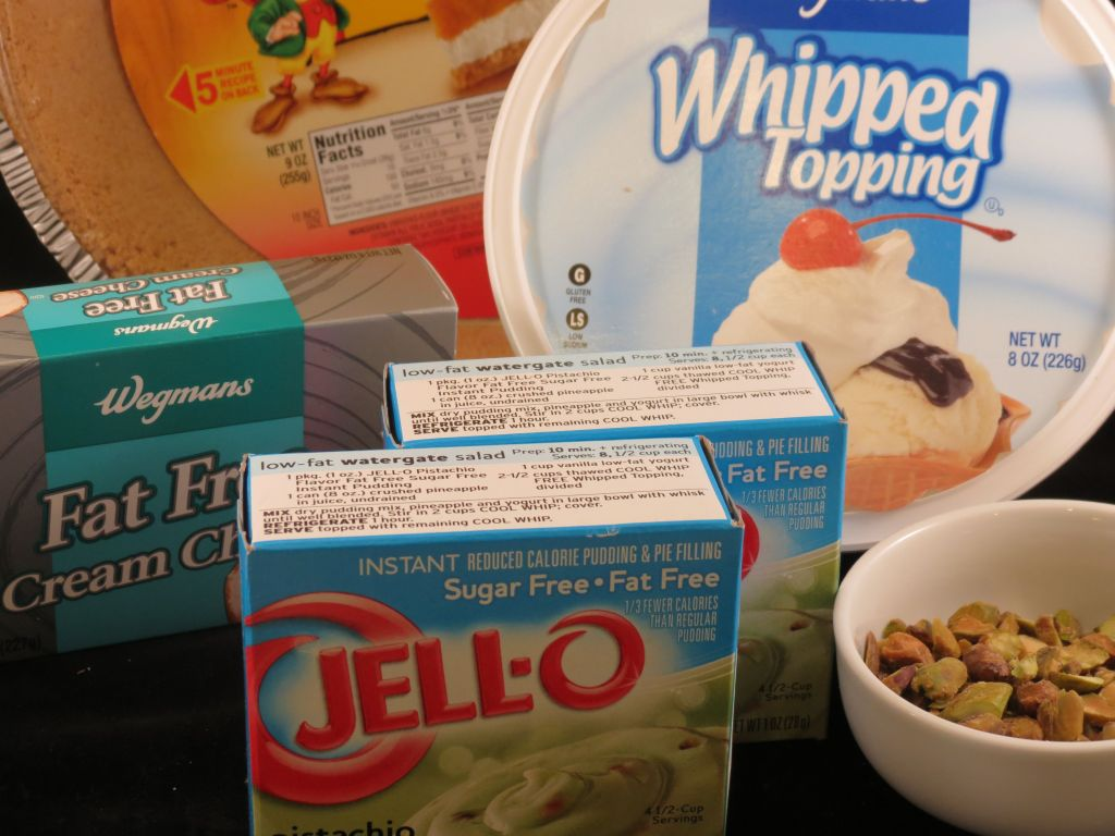 Pistachio Pudding Pie Ingredients