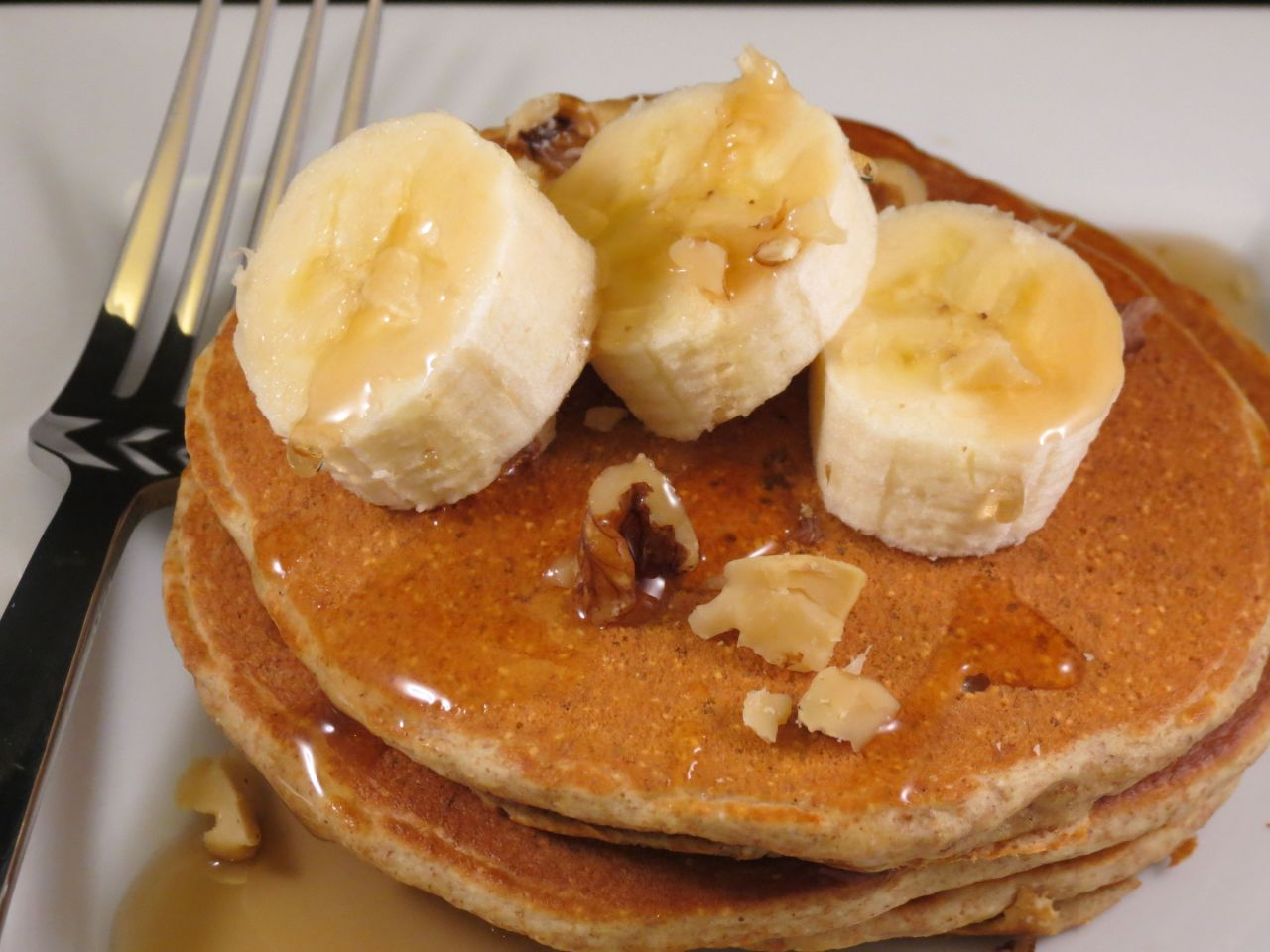 Whole Wheat Walnuts Pancakes single serving
