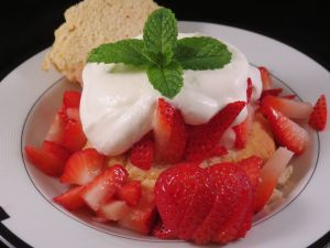 Strawberry Shortcake with Bourbon Whip Cream Final