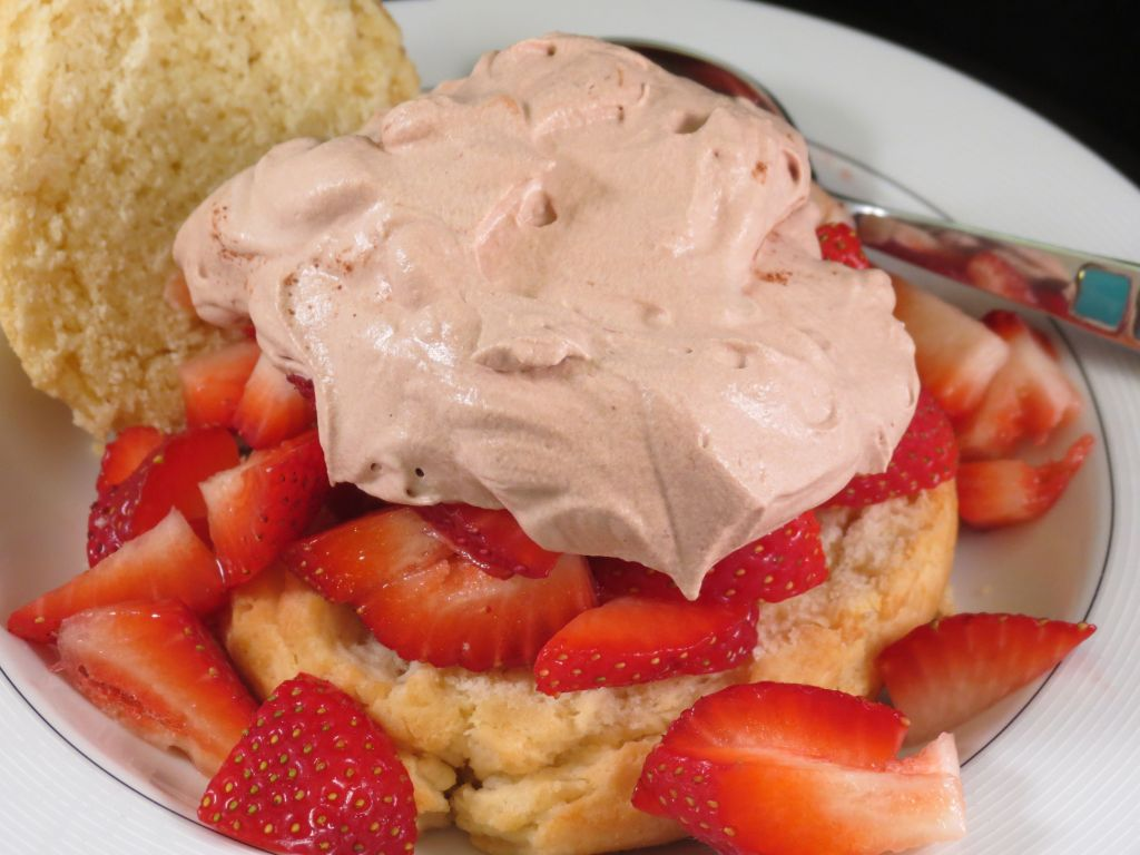 Strawberry Shortcake with Chocolate Whipped Topping final picture