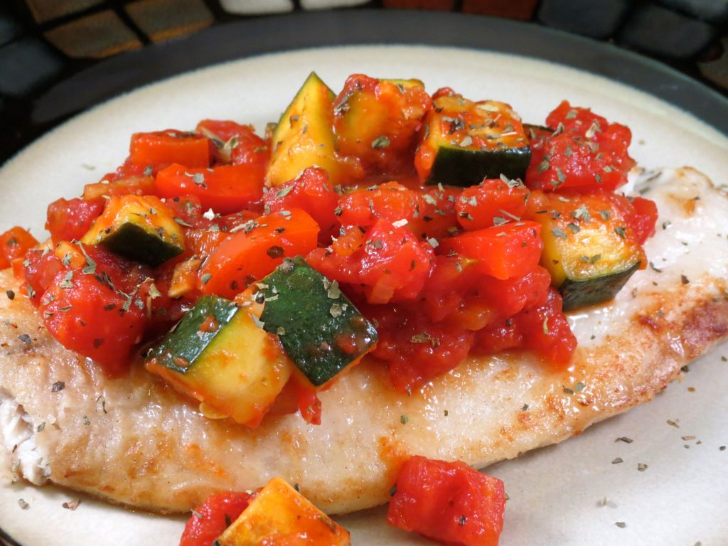Ratatouille Tilapia Cover Picture
