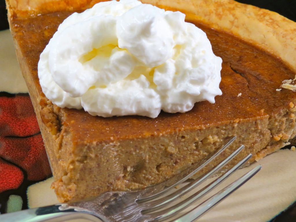 Pumpkin Banana Pie