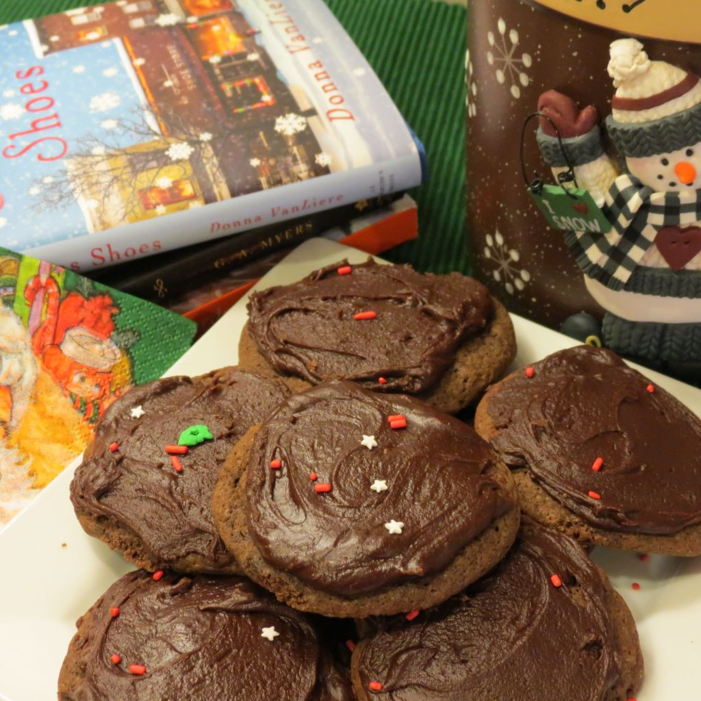 Chewy Chocolate Drop Cookies Cover Picture