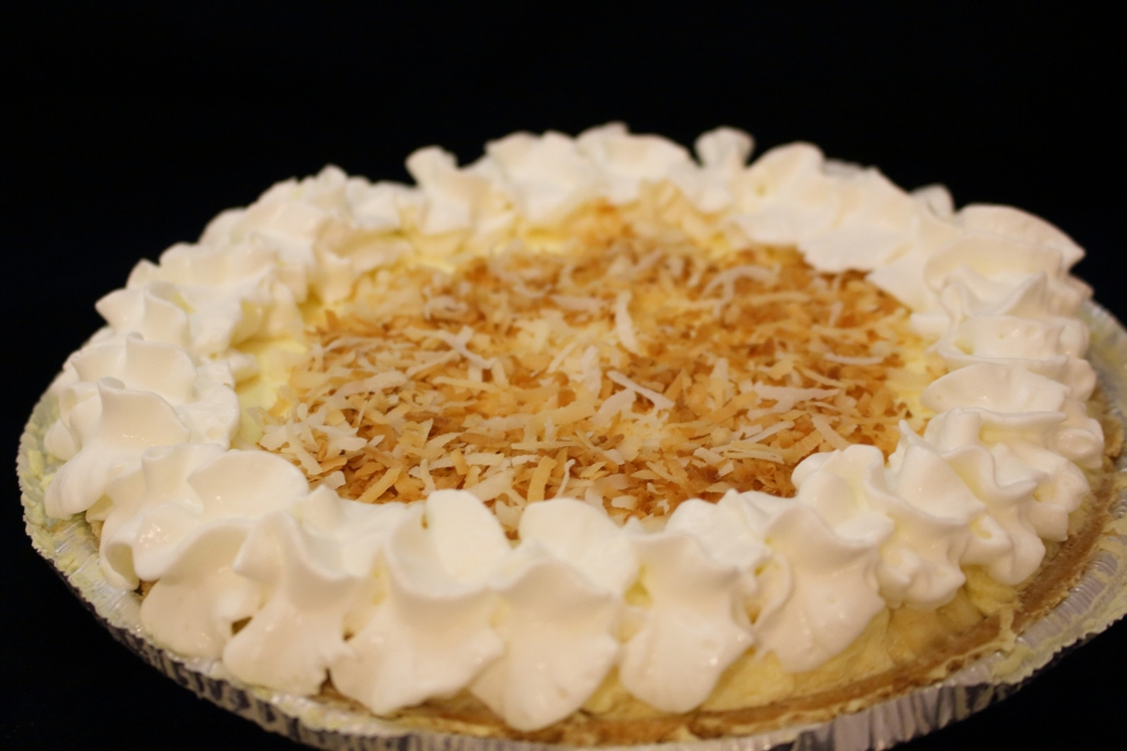 Creamy Banana Pie Finished