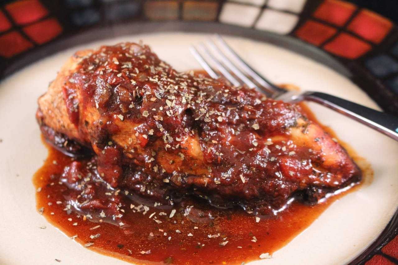 Braised Balsamic Chicken with Shallots | Realistic Cooking Ideas