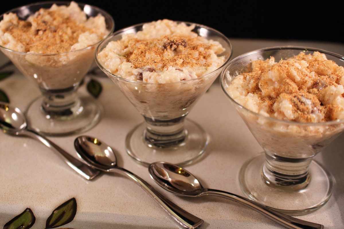 Mini-Indian Rice Pudding Desserts - Slow Cooked