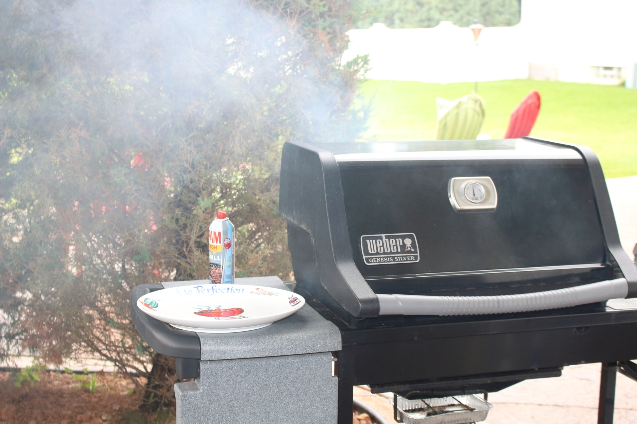 The Grill is smokin