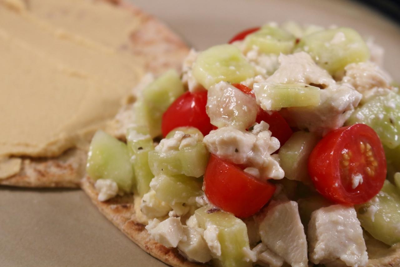 Greek Style Chicken Sandwich 2