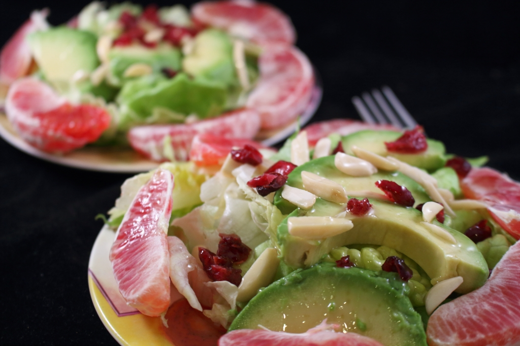 Blood Orange Avocado Salad with Macadamia Nut Oil Cover Photo
