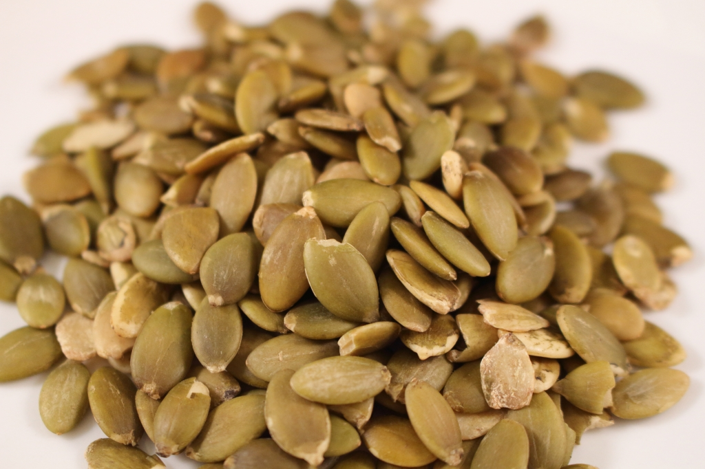 raw pumpkin seeds photo