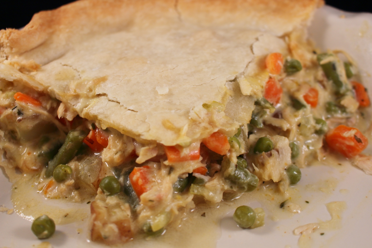 Make Ahead Creamy Chicken Pot Pie with Roasted Root Vegetables ...