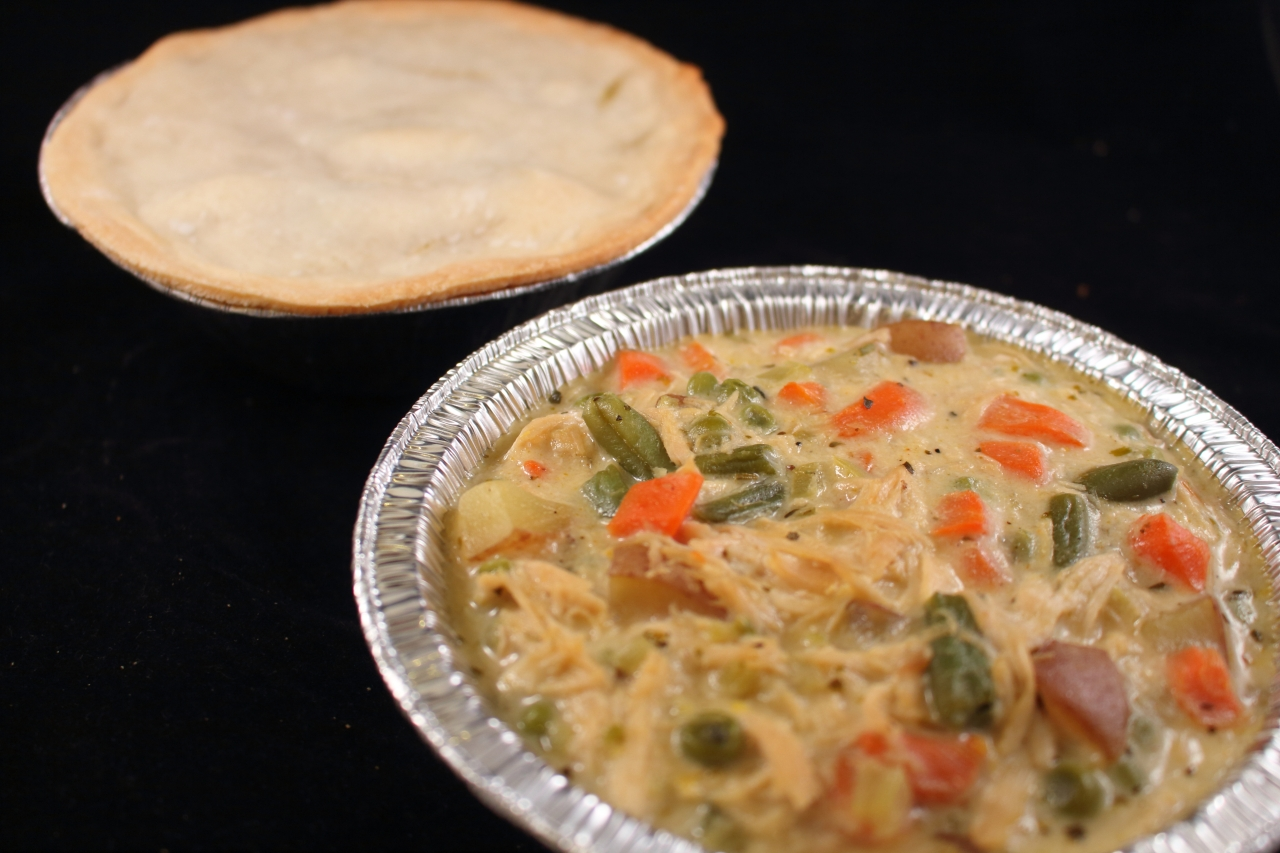 Chicken Pot Pie Crustless