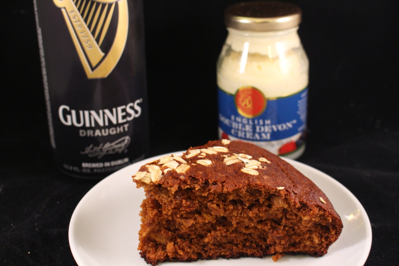 Guinness Irish Soda Bread plated