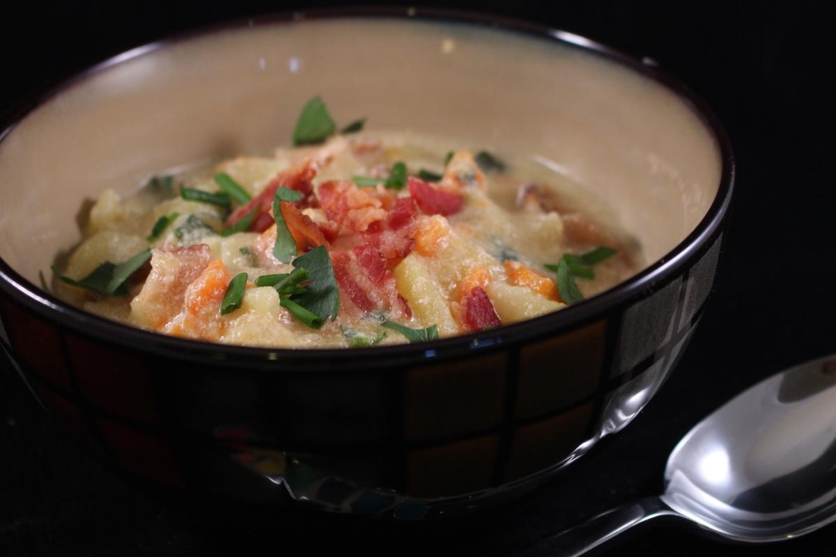 My Version of Potato Soup for St. Patrick's Day!